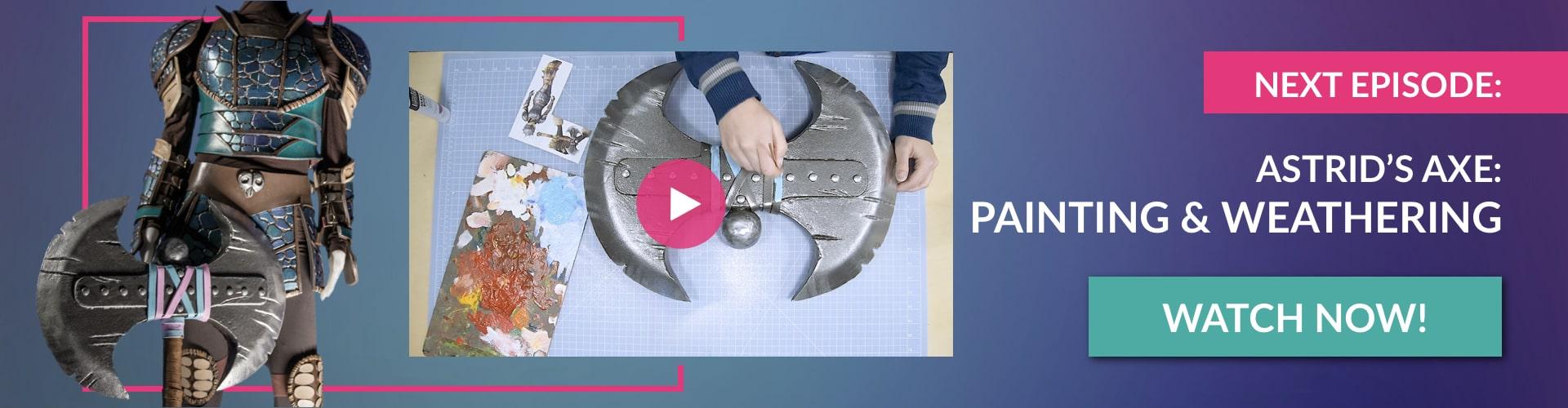 CosBond-Astrid-Axe2-Next-Episode-Axe-Painting-min
