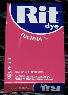 Rit dye for plastic acrylic sheets and plexiglass