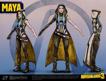 Borderlands 3 character reference
